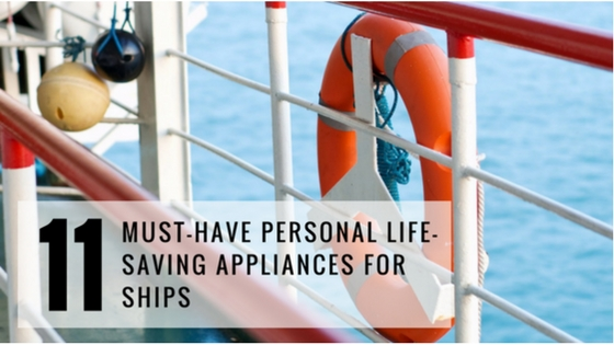 11 Main Personal Life-Saving Appliances Used Onboard Ship