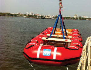 Rescue Boat Launch Test